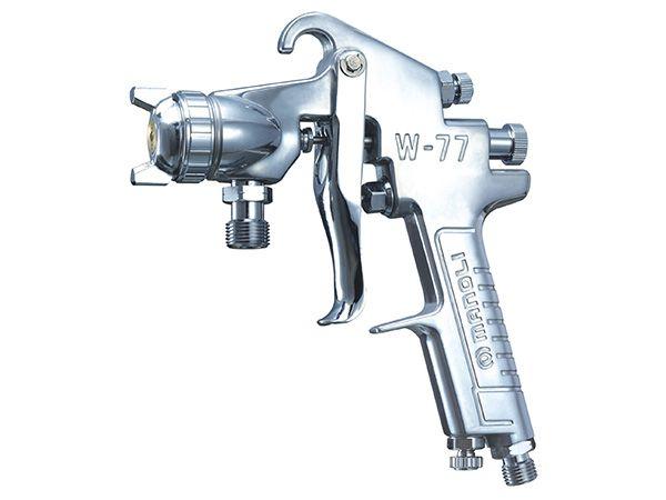 明丽手动喷枪W-77-P压送式大口径喷漆枪