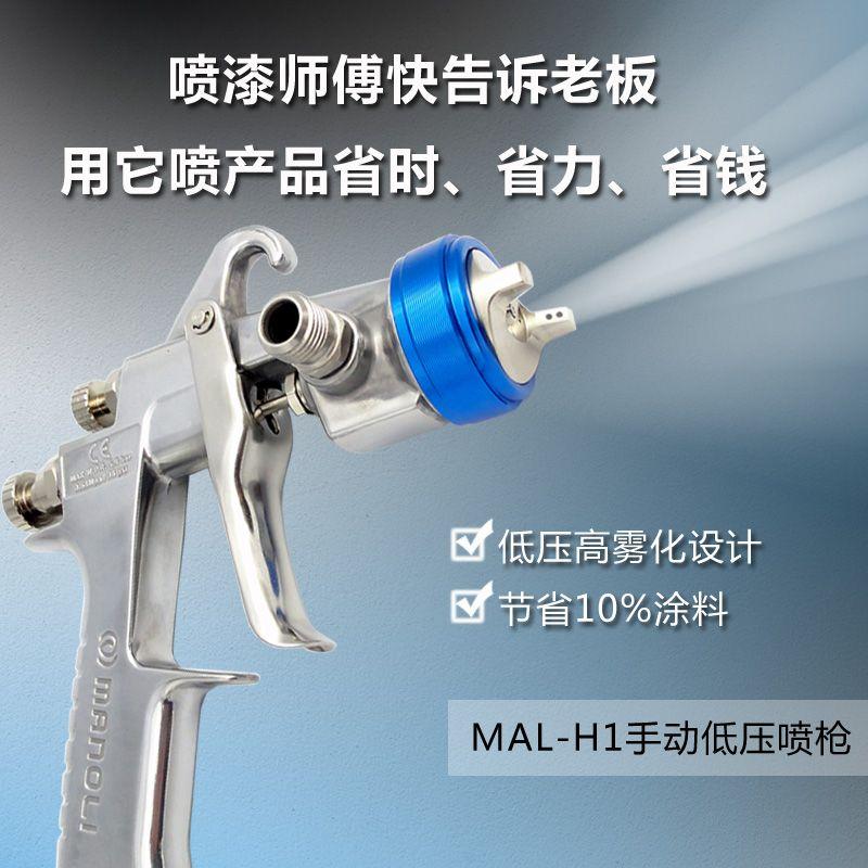台湾进口明丽低压手动喷枪MAL-H1